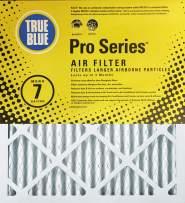 True Blue WEB Pro Series 20x20x4 Air Filter, 3-Pack
