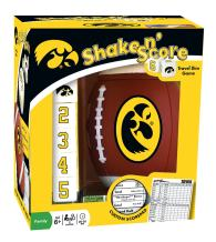 MasterPieces NCAA Iowa Hawkeyes Shake N' Score Travel Dice Game