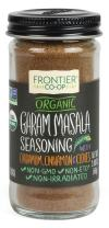 Frontier Garam Masala Certified Organic Seasoning Blend, 2 Ounce