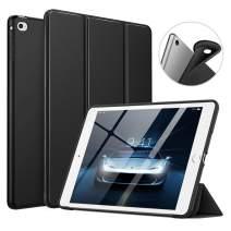 "MoKo Case Fit iPad Mini 4, Slim Smart Shell Stand Folio Case with Soft TPU Back Cover Compatible with iPad Mini 4 7.9"" 2015, Auto Wake/Sleep - Black"