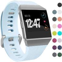 Wepro Bands Compatible with Fitbit Ionic SmartWatch, Watch Replacement Sport Strap for Fitbit Ionic Smart Watch, Large, Small