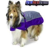 Derby Originals Horse Tough 1200D Waterproof Winter Dog Coat with 2 Year Warranty - Designed with Heavy Duty Ripstop Nylon & No Rub Breathable Inner Lining Insulated