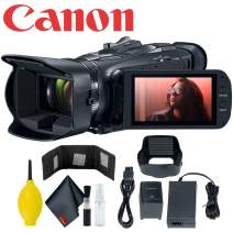 Canon Vixia HF G50 Ultra HD UHD 4K Camcorder (Black) (3667C002) Essential Bundle - Includes - Memory Card Wallet + Deluxe Camera Cleaning Kit + Dust Blower + Microfiber Cleaning Cloth + More