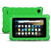 EJAYOUNGer New Amazon Fire HD 10 Case (9th / 7th / 5th Generation, 2019/2017 / 2015 Released) [Kids Friendly ] Light Weight Shock Proof Cover for Fire HD 10.1 inch Tablets(Green)