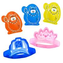 5 x Children's Ice Packs for Instant Pain Relief - Boo Boo Buddy for Kids, Toddlers & Babies. Cold Compress for Bumps, Bruises, Knocks and Ouchies! The Best Reusable Child Ice Pack for Injuries