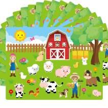 Make A Farm Sticker Scene 12 Cardboard Backgrounds Kids Party Crafts