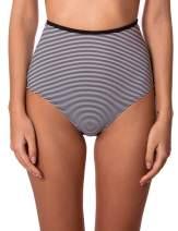 RELLECIGA Women's High Waist Hipster Bikini Swimsuit Bottom