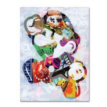 Mario by Artpoptart, 18x24-Inch Canvas Wall Art