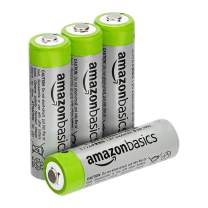 Amazon Basics AA High-Capacity Rechargeable 4-Pack