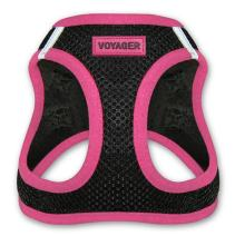 """Voyager Step-In Air Dog Harness - All Weather Mesh, Step In Vest Harness for Small and Medium Dogs by Best Pet Supplies - Pink, X-Small (Chest: 13"""" - 14.5"""")"""