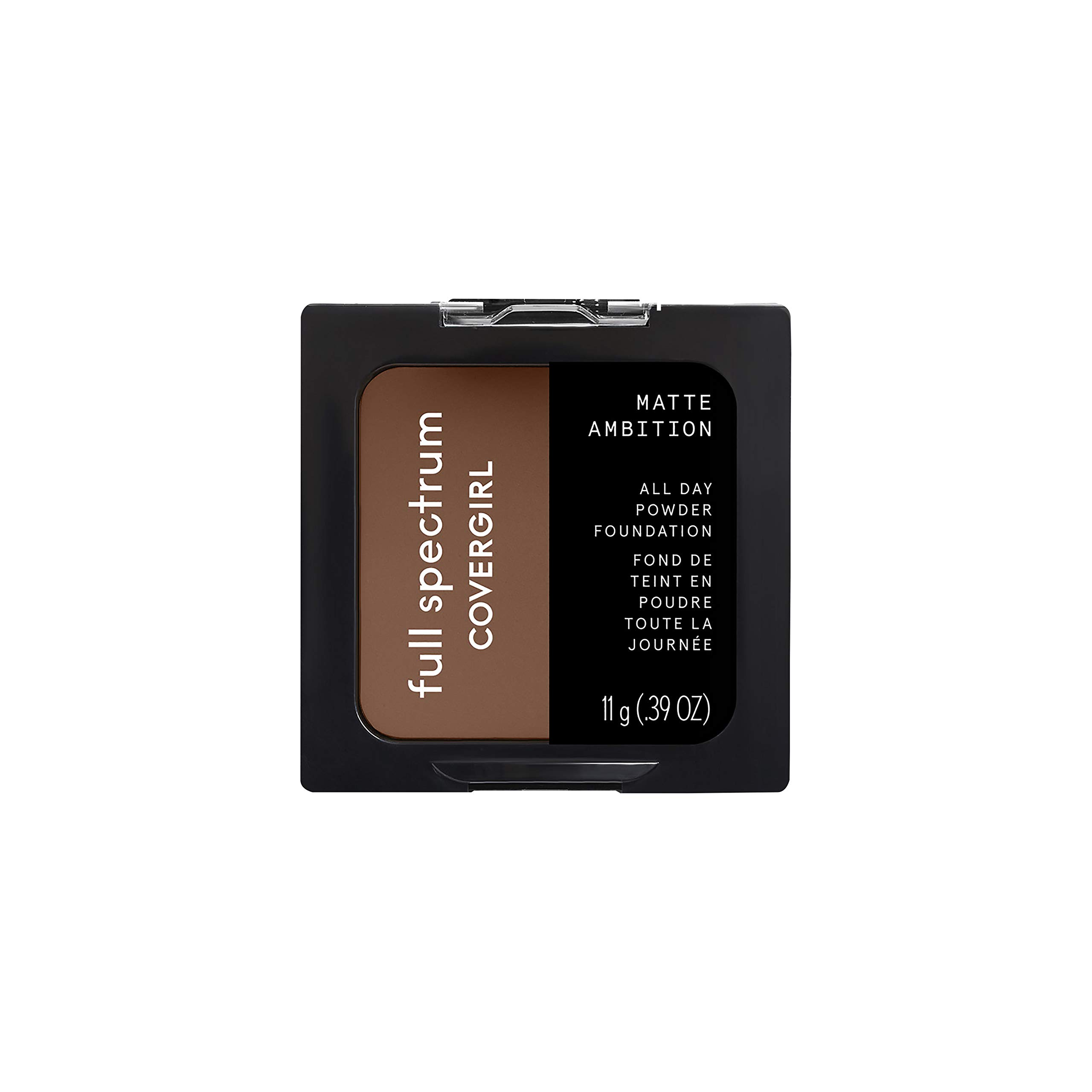 Covergirl Matte Ambition, All Day Powder Foundation, Deep Cool 3, 0.38 Ounce