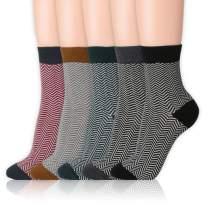 Kikiya Socks Women's Pattern Design Crew Socks