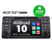 2020 Car Stereo, Double Din Car Stereo, Eonon 7 Inch Android 10 Car Radio Applicable to BMW 3 Series Android Head Unit Support Carplay/Android Auto/Bluetooth 5.0/WiFi/Fast Boot/Backup Camera-GA9450