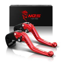 MZS Short Levers Brake Clutch CNC Compatible with CBR1000RR CBR 1000RR FIREBLADE SC57 2004-2007| CB1000R 2008-2016 Red