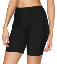 beautyin Womens Swim Shorts High Waisted Swimsuit Tankini Bottoms