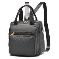 BAG WIZARD Multifunction Women Backpack Purse Nylon Lightweight Shoulder Bags Travel Large Capacity Handbag Daypack