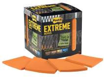 Post-it Extreme Notes, Stop Re-work on the Job, Removes cleanly, 100X the holding power, Orange, 3 in x 3 in, 12 Pads/Pack, 45 Sheets/Pad (EXTRM33-12TRYO)