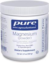 Pure Encapsulations - Magnesium (Powder) - Supports Cardiovascular Function, Muscle Function, Mood and Calming - 3.7 Ounces