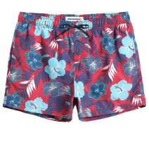 MaaMgic Mens Boys Short Solid Swim Trunks with Mesh Lining Quick Dry Mens Bathing Suits Swim Shorts