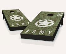 Tailgating Pros US Army Digital Camo Cornhole Boards with Set of 8 Cornhole Bags