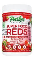 Superfood Reds by Parker Naturals Organic Antioxidant Powder: Super Food Energy Mix with SuperFruits and SuperGreens. High ORAC Score.