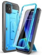 SUPCASE Unicorn Beetle Pro Series Case Designed for iPhone 11 6.1 Inch (2019 Release), Built-In Screen Protector Full-Body Rugged Holster Case (Blue)