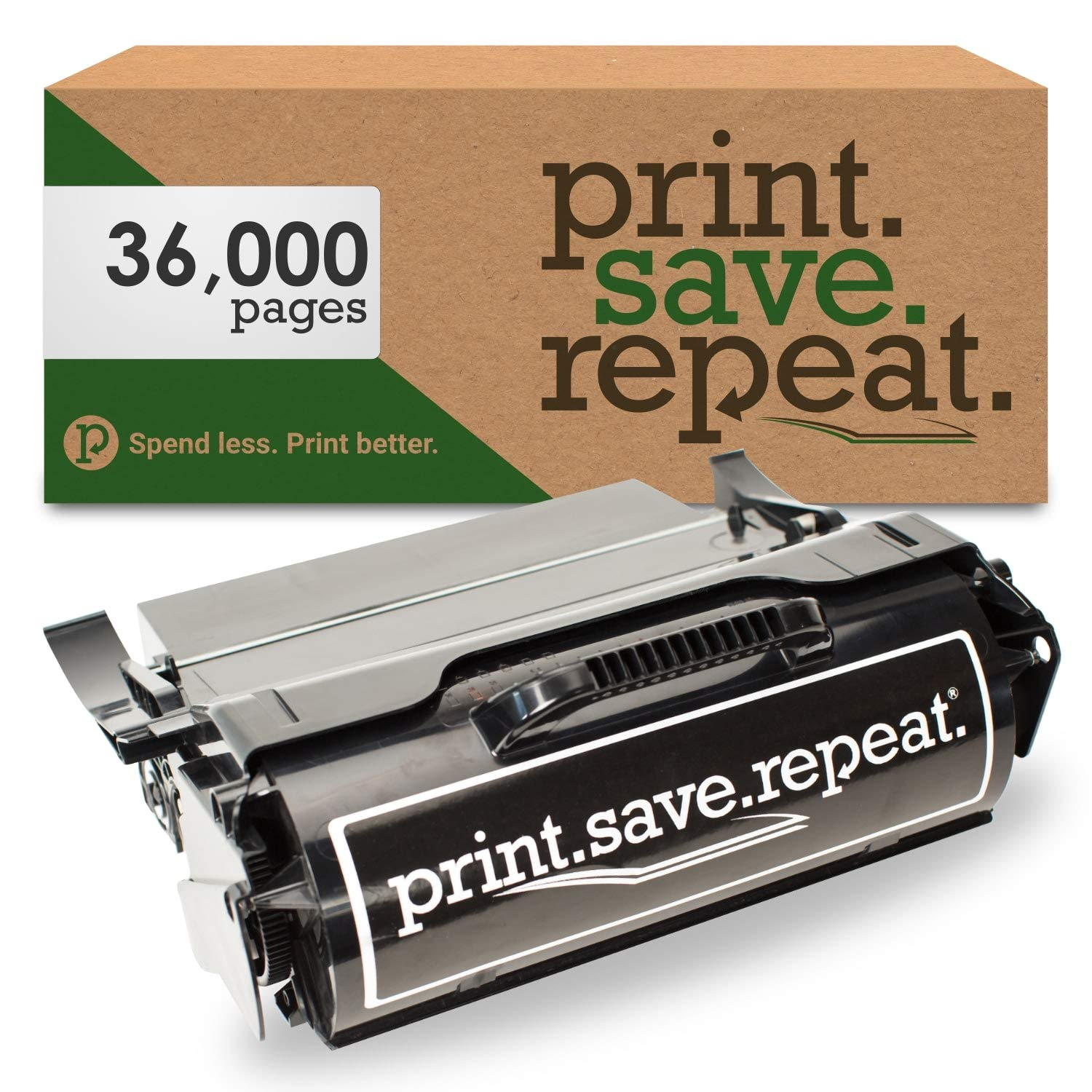 Print.Save.Repeat. Lexmark T654X21A Extra High Yield Remanufactured Toner Cartridge for T654, T656, TS654, TS656 [36,000 Pages]