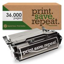 Print.Save.Repeat. Lexmark T654X04A Extra High Yield Remanufactured Label Applications Toner Cartridge for T654, T656, TS654, TS656 [36,000 Pages]