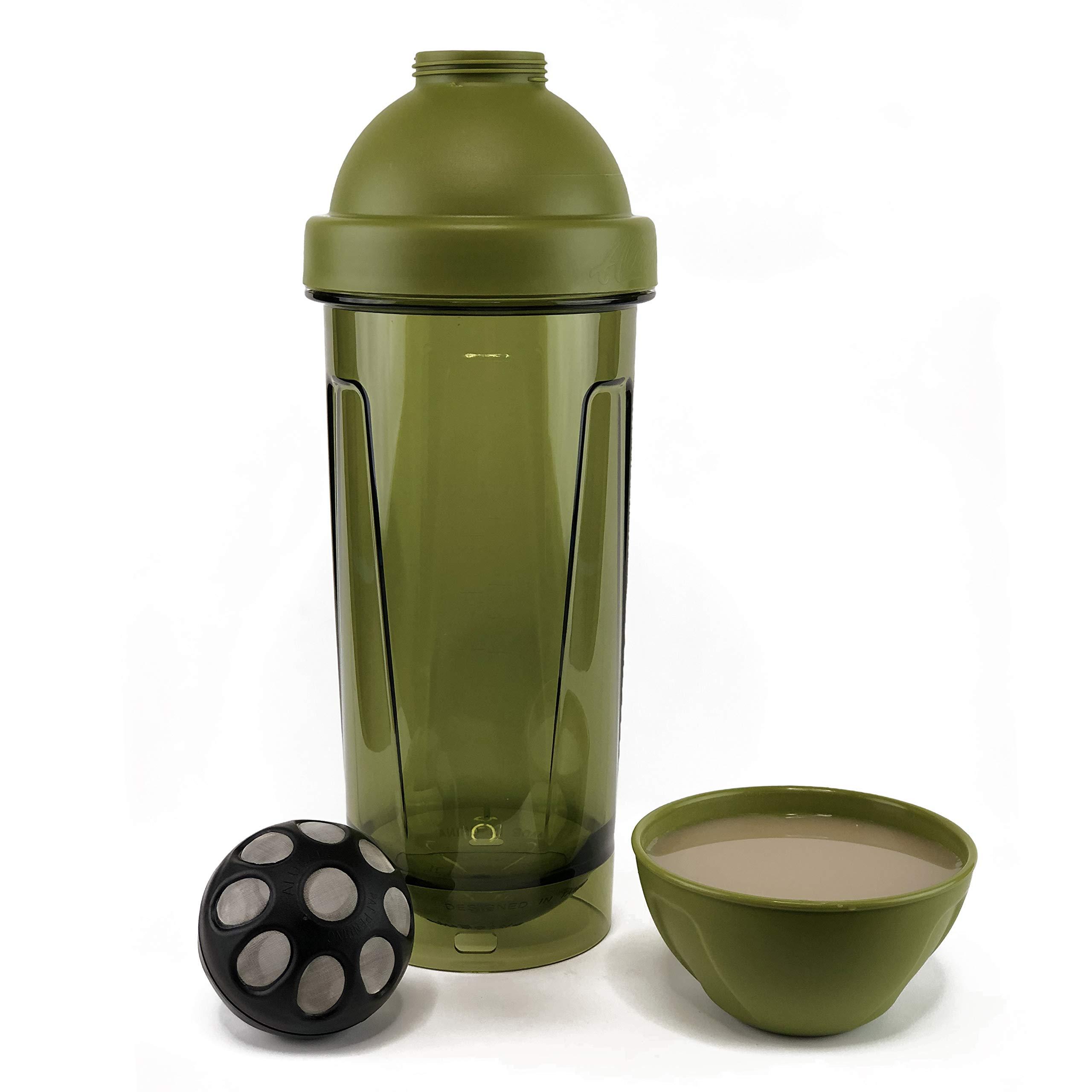 Kavafied AluBall Pro Kava Maker ('Awa Green)