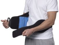 NatraCure Hot/Cold Compression Lumbar Support Back Brace/Wrap – Alleviates Pain from Back Surgery, Arthritis, Swelling, Sciatica, Degenerative/Slipped Discs, and Sports Injuries (6037 CAT)