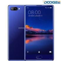 Unlocked Cell Phones, DOOGEE Mix 4G Unlocked Smartphones Android 7.0-5.5 Inch AMOLED HD Screen - MediaTek Helio P25-3380mAh - 4GB RAM+64GB ROM - 8MP+16MP Dual Cameras - Unlocked Phone, Blue