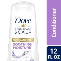 DOVE HAIR Dermacare Scalp Soothing Moisture Anti-Dandruff Conditioner, 12 Fl Oz (Pack of 1)