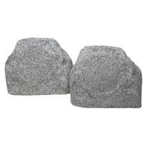 """TIC TFS5-WG 6.5"""" Outdoor Weather-Resistant Rock Speakers (Pair) - White Granite"""