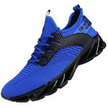 DUORO Mens Athletic Running Shoes Mesh Lightweight Sneakers Breathable Stylish Athletic Gym Shoes Casual Sport Shoes for Walking