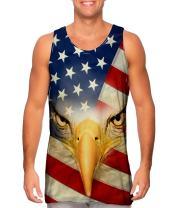 AnimalShirtsUSA- American Eagle -Tshirt- Mens Tank Top