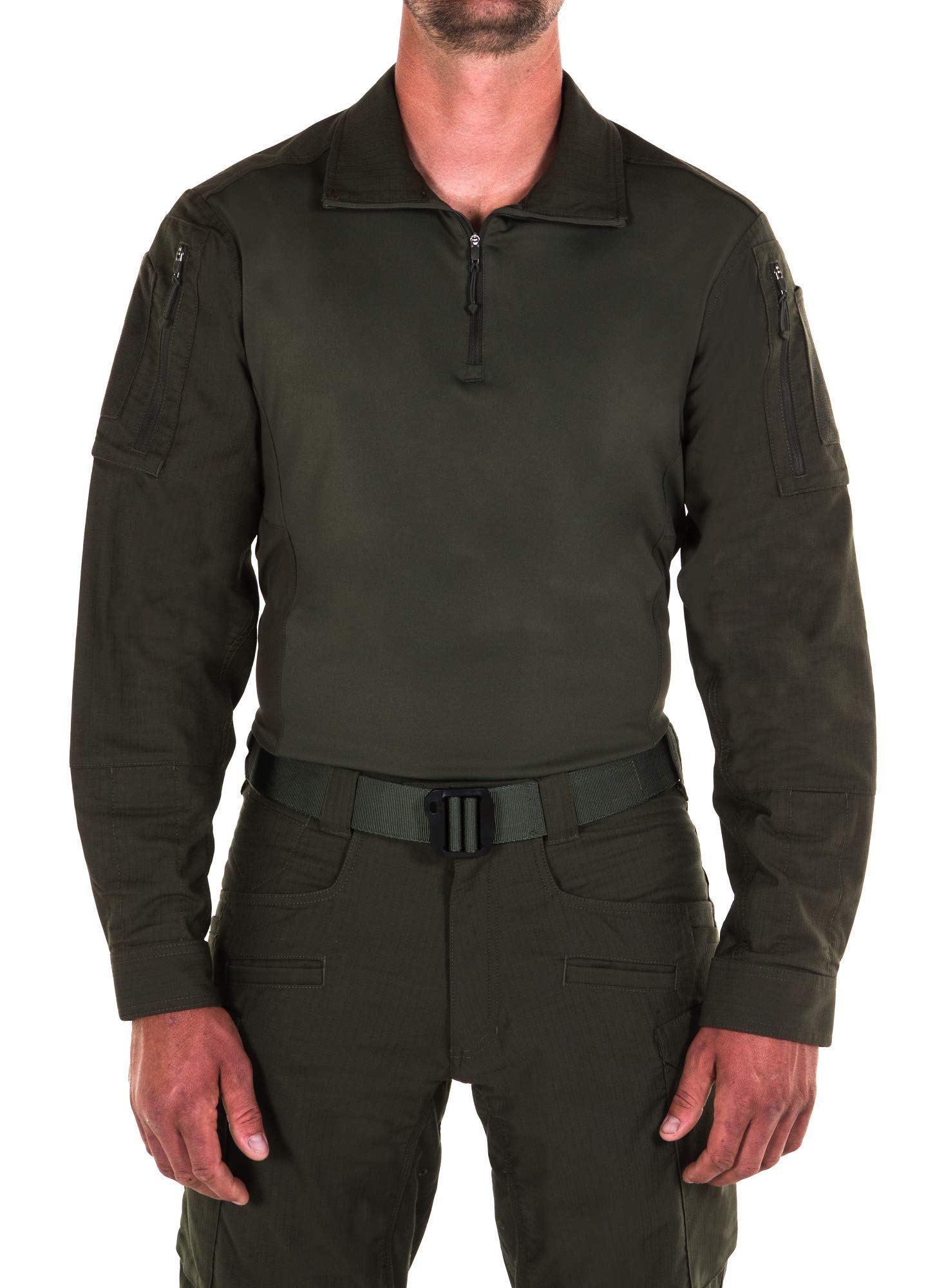 First Tactical Men's Defender Shirt | Double Ripstop Fabric with Moisture Wicking Finish
