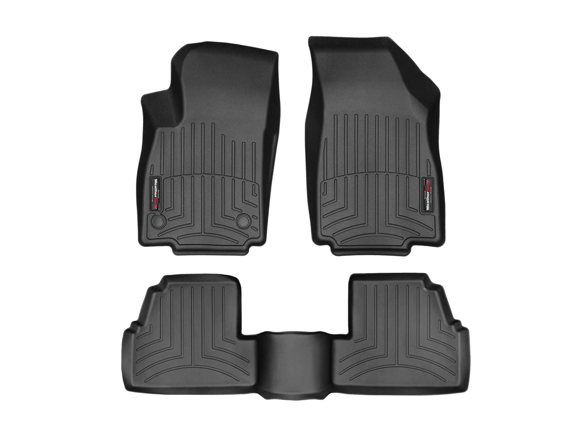WeatherTech Custom Fit FloorLiner for Encore/Trax - 1st & 2nd Row (Black)