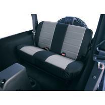 Rugged Ridge 13261.09 Black & Grey Custom Neoprene Rear Seat Cover