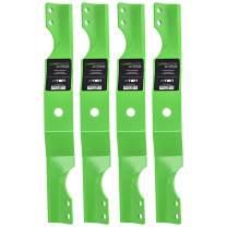 8TEN LawnRAZOR Standard Blade for Ariens 34 Inch Decks Zoom 34 Zoom 50 Zero Turn Mowers 03971900 4 Pack