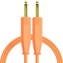 Chroma Cables: Performance Audio Optimized - 1/4 to 1/4 (Neon Orange)