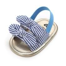 ENERCAKE Baby Girls Sandals Flower Soft Sole Toddler Newborn Crib First Walker Dress Shoes
