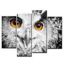 Owl Head Portrait Wall Art Painting Pictures Print On Canvas Animal The Picture for Home Modern Decoration