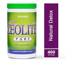 ZEOLITE PURE   Full Body Detox Cleanse   Safe, Gentle, Effective Energy Booster That Supports Gut Health, Mental Clarity, Healthy Inflammation Response   Original Zeolite Powder (400 Servings)
