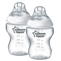 Tommee Tippee Closer to Nature Baby Bottle, 9 Ounce (2 Count)