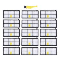 MZY LLC 15 Pcs Hepa Filter Replacement for iRobot Roomba 800 900 Series 800 805 850 860 861 866 870 880 890 960 980 Vacuum Cleaner