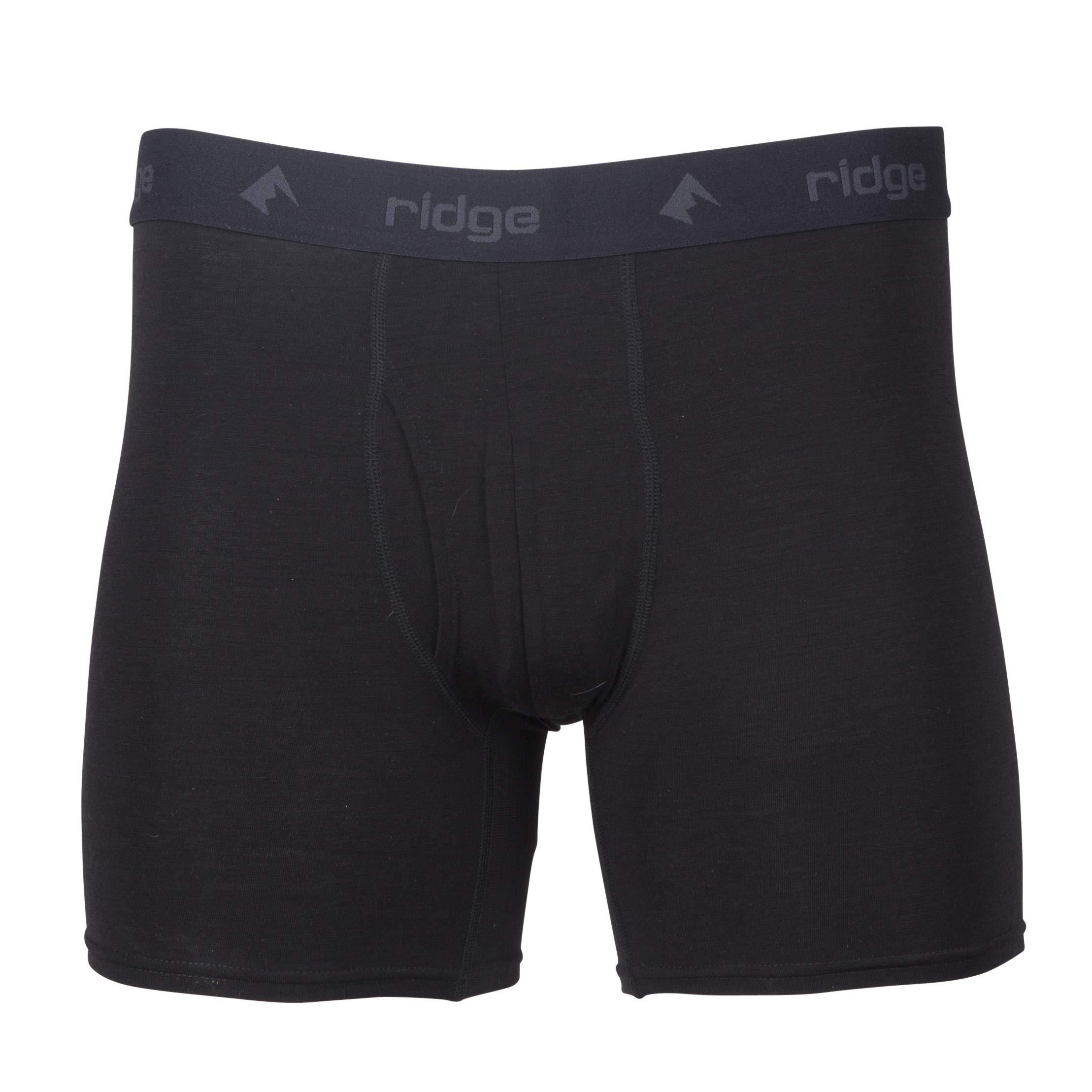 Ridge Merino Men's Ridge Boxer Brief - Merino Wool