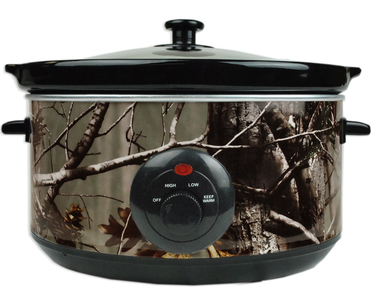 DII CRT79824 Camouflage Realtree Serving Sets, Slow Cooker, Green