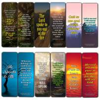 Hear The Voice of God Bookmarks (30-Pack)