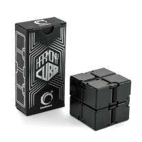 CreativeLine Harmony Cube - Calming Toy to Relieve Stress, Anxiety & Kill Time, Magic Mini Gadget Ideal for Office, Travel & Classroom, Therapy for All Fingers & Hands Adults, Teens & Kids