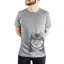 Inkopious Loki The Malamute Triblend T-Shirt